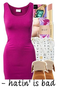 """"""": 383"""" by brobie ❤ liked on Polyvore featuring Michael Kors, Napoleon Perdis, MCM, VILA and Timberland"""