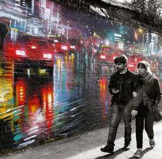by Dan Kitchener, London, 5/15 (LP) #streetart jd