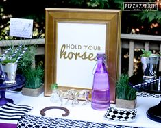 Hold Your Horses Derby Party Ideas