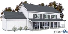 house design colonial-style-house-ch131 2