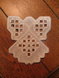 hardanger patterns free | hope to stitch up a number of these angels for Christmas gifts. Keep ...