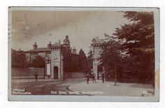 HAMPSHIRE, SOUTHAMPTON, THE STAG GATES, 1914, RP