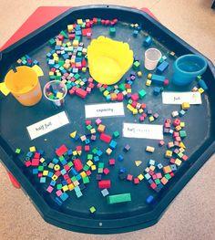 Capacity EYFS Numicon Activities, Capacity Activities, Measurement Activities, Math Measurement, Toddler Learning Activities, Teaching Activities, Capacity Worksheets, Numeracy, Year 1 Maths