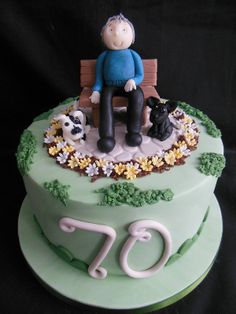 Hartmut, Garden Cakes, Birthday Cakes For Men, Cake Board, Themed Cakes, Desserts, Food, Pastries, Recipes