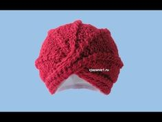 Crochet turban by Oana its' a step by step tutorial on crochet a lovely vintage accessory that any woman should have. crochet duster https:. Crochet Turban, Crochet Beanie, Crochet Yarn, Crochet Stitches, Knitting Videos, Crochet Videos, Baby Hats Knitting, Knitted Hats, Knitting Patterns