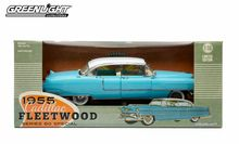 Greenlight 1/18 Scale 1955 Cadillac Fleetwood Series 60 Special Light Blue Limited Edition Diecast Car Model 12924 - www.DiecastAutoWorld.com 2312 W. Magnolia Blvd., Burbank, CA 91506 818-355-5744 AUTOart Bburago Movie Cars First Gear GMP ACME Greenlight Collectibles Highway 61 Die-Cast Jada Toys Kyosho M2 Machines Maisto Mattel Hot Wheels Minichamps Motor City Classics Motor Max Motorcycles New Ray Norev Norscot Planes Helicopters Police and Fire Semi Trucks Shelby Collectibles Sun Star…