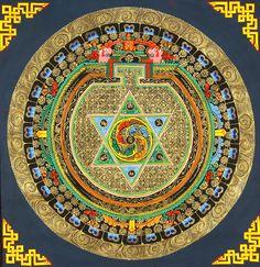 Vajrayogini Mandala with the mantra Om Mani Padme Hum