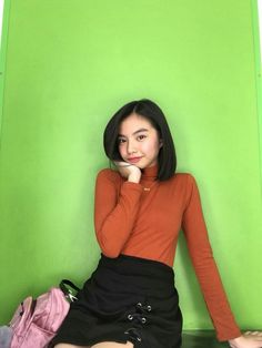 Filipina Beauty, Spiderman Art, Bae Suzy, Bad Girl Aesthetic, Celebrity Crush, Turtle Neck, Celebrities, Cute, Mochi