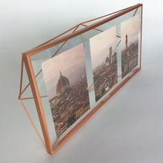 Prisma Frame Triple - COPPER from Glass House for $38.00