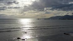 Down: Dundrum Bay from Rossglass. Irish Landscape, My Photos, Celestial, Sunset, Beach, Water, Outdoor, Sunsets, Water Water
