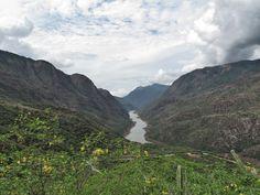 Cañón del Rio Sogamoso Zapatoca Santander Colombia  by Luis  velasquez  on 500px
