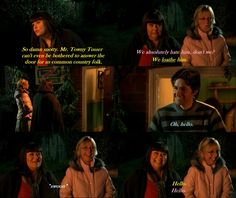 The Vicar of Dibley: Geraldine and Alice meet Harry for the first time.