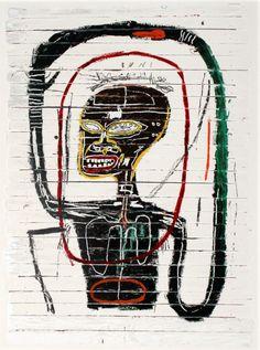Jean-Michel Basquiat - Flexible, 1984.