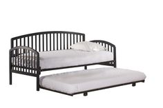 Hillsdale Furniture 1924DBDTN Carolina Daybed - Suspension Deck and Trundle Included - Navy