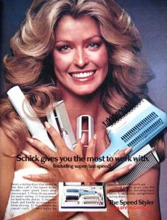 Honestly, who else would you have paid to advertise your hair products? :)