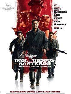 Inglourious Basterds est un film de Quentin Tarantino avec Brad Pitt, Mélanie Laurent. Synopsis : Dans la France occupée de 1940, Shosanna Dreyfus assiste à l'exécution de sa famille tombée entre les mains du colonel nazi Hans Landa. Shosanna s'éch