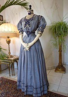 Extraordinary Reception Gown, ca. 1901