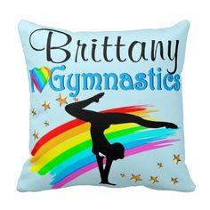 BEAUTIFUL BLUE GYMNASTICS  PERSONALIZED PILLOW http://www.zazzle.com/mysportsstar/gifts?cg=196266986222021691&rf=238246180177746410  #Gymnastics #Gymnast #IloveGymnastics #Gymnastgifts #WomensGymnastics #personalizedGymnast #Gymnasticsgirl