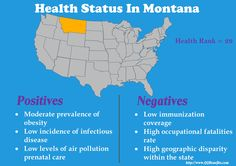 Affordable Health Insurance in Montana - Infant Mortality, Mortality Rate, Affordable Health Insurance, Violent Crime, Free Advice, High School Graduation, Positive And Negative, Air Pollution, Public Health
