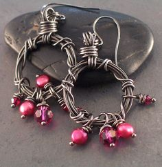 "wire earrings | ... ""Barbed Wire"" earrings - Submit an Entry: Favorite Earring Design"
