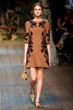 Dolce & Gabbana Fall 2014. red carpet prediction: kate mara