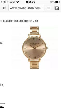 My gorgeous new Olivia Burton watch ❤️