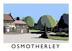 Osmotherley Art Print (A3) Chequered Chicken http://www.amazon.co.uk/dp/B011L3C0Q6/ref=cm_sw_r_pi_dp_YIe0wb14GQY65