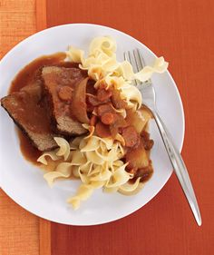 Slow-Cooker Tuscan Pot Roast | Easy Slow-Cooker Recipes | Real Simple