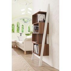 Furniture of America Danbury Contemporary 5-shelf 2-tone Bookshelf Display Stand - Free Shipping Today - Overstock.com - 15924444 - Mobile
