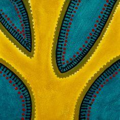 """Yellow Tree"" by bessesdotter Yellow Tree, Paintings, Studio, Bikinis, Flowers, Fashion, Moda, Fashion Styles, Painting Art"