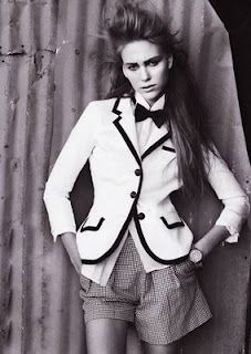 love a girl in a bow tie    - Ralph Lauren