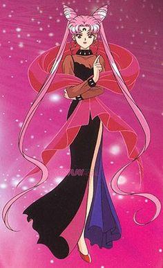 Chibiusa as Black Lady
