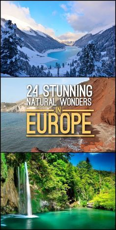 Looking for the best nature spots in Europe? Check out this list of 24 stunning natural wonders in Europe, which includes waterfalls, beaches and mountain ranges. europe destinations 24 Stunning Natural Wonders in Europe Backpacking Europe, Europe Travel Guide, Travel Guides, Europe Europe, Budget Travel, Travel Hacks, Travel Packing, Europe Packing, Travel Essentials
