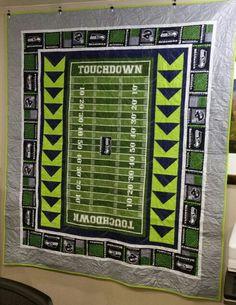 Seahawks quilt
