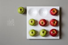 PlayPlate - Tic tac toe Board Game, Table Game, Wood Dish, Fruit Tray...  Increasingly, people divide things: important and insignificant,