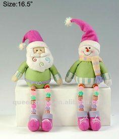 muñecos de navidad - Buscar con Google Polymer Clay Christmas, Christmas Ornaments To Make, Christmas Love, Xmas Crafts, Christmas Snowman, Christmas Projects, Christmas Holidays, Victorian Christmas, Doll Crafts