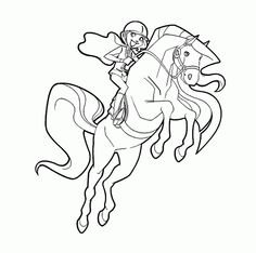 Jumping Horse Coloring Sheet | Pinterest | Jumping horses ...