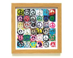 Peace | Street Art Print | Framed Print | Collections Picture | Square Photographic Print | Graffiti | CND | Graffiti | Urban Art | Punk