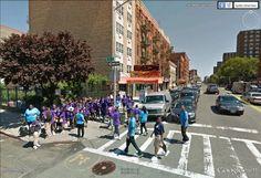 "West 126th street, Harlem, New York City / 40°48'39.05""N 73°57'2.61""W (Google Earth Street View)"