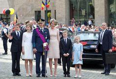 21 July 2016 - Belgian Royal Family celebrates Belgium National Day - Elisabeth style: Diane Von Funstenberg