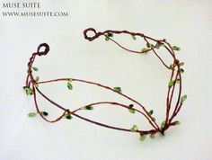 Hey, I found this really awesome Etsy listing at https://www.etsy.com/listing/271211553/elf-crown-green-branch-forest-tiara