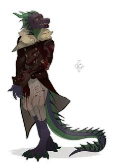 Fur Affinity is the internet's largest online gallery for furry, anthro, dragon, brony art work and more! Character Poses, Character Concept, Character Art, Concept Art, Character Design, Dnd Characters, Fantasy Characters, Kraken, Humanoid Dragon
