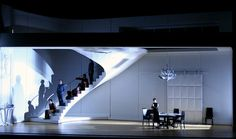 A n d r e w L i e b e r m a n - S e t D e s i g n COSI FAN TUTTE. New York City Opera. Directed by Christopher Alden.