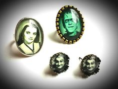 Check out this item in my Etsy shop https://www.etsy.com/listing/229419995/herman-munster-glass-dome-adjustable
