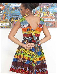 African Fashion # Ituen Basi