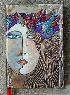 Nancy standlee ceramic wall art ***But Laurel Burch Art! Ceramic Wall Art, Ceramic Clay, Tile Art, Ceramic Pottery, Pottery Art, Technique Photo, Cerámica Ideas, Hand Built Pottery, Clay Tiles