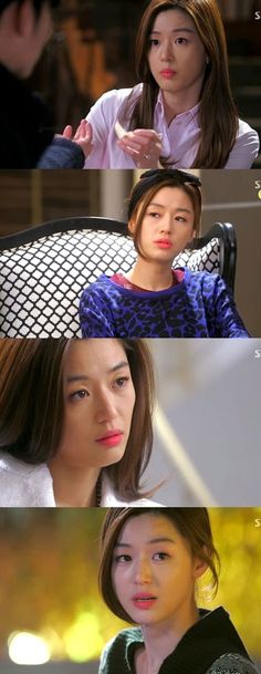 """Jun Ji Hyuyn """"Cheon Song Yi"""" - From the K-Drama: My Love from Another Star, You Who Came from the Star: Rosey Coral Lipstick #findingferdinand #lipstick #cheonsongyi"""