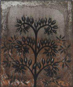 Phacelia Congesta by Kirsi Neuvonen Organic Art, Tree Leaves, Printmaking, Scandinavian, Collage, Rugs, Prints, Beautiful, Home Decor