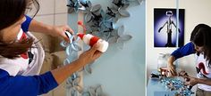 Imperfectly Perfect- Life as I see it: Home Work - The TP Flower Project