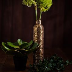 PANAMA VASE TALL - ACCESSORIES - WYLD HOME - 1